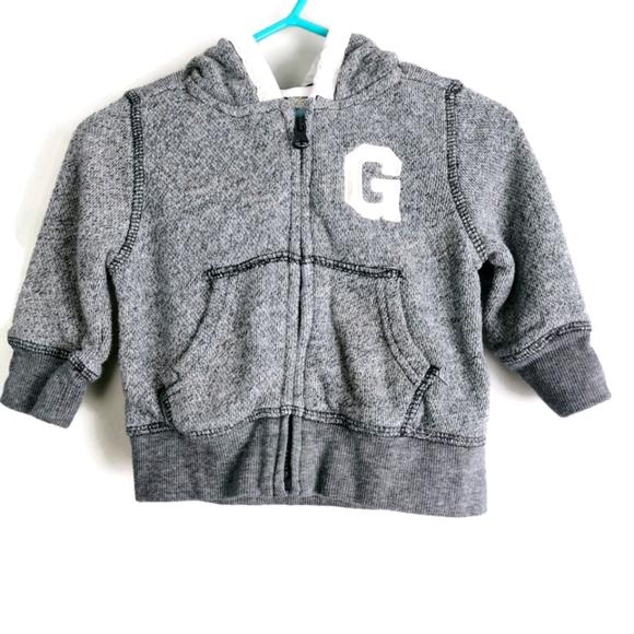 Baby Gap Zip Hoodie 3-6m